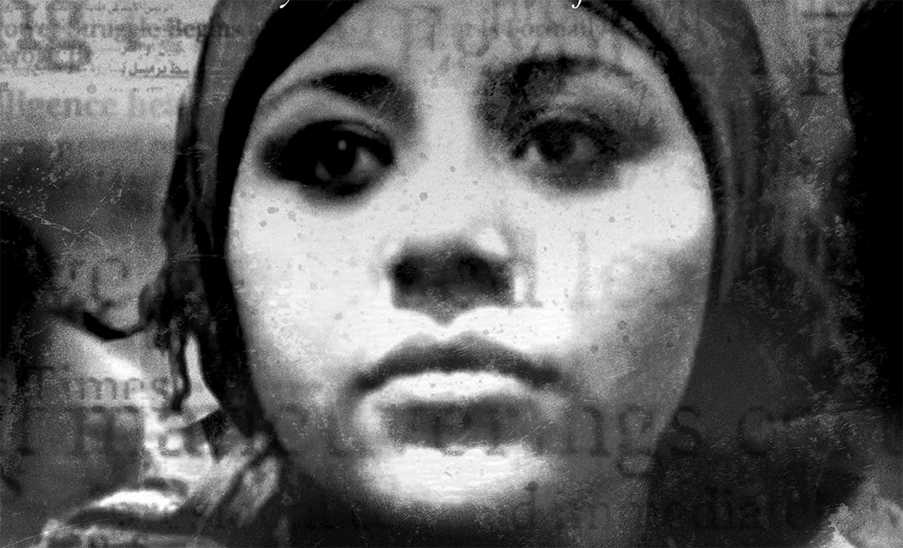 image of the face of a younger woman