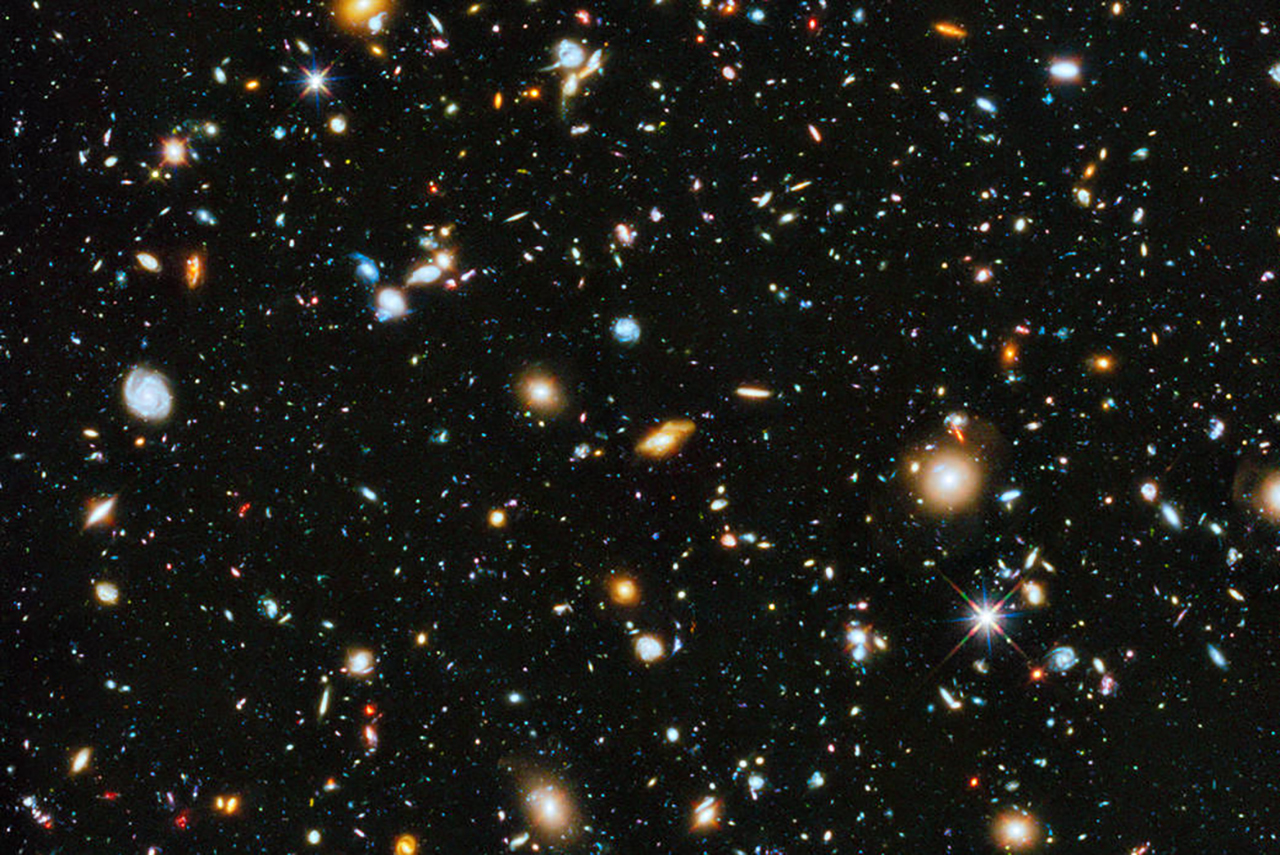 photo of the universe NASA/ESA
