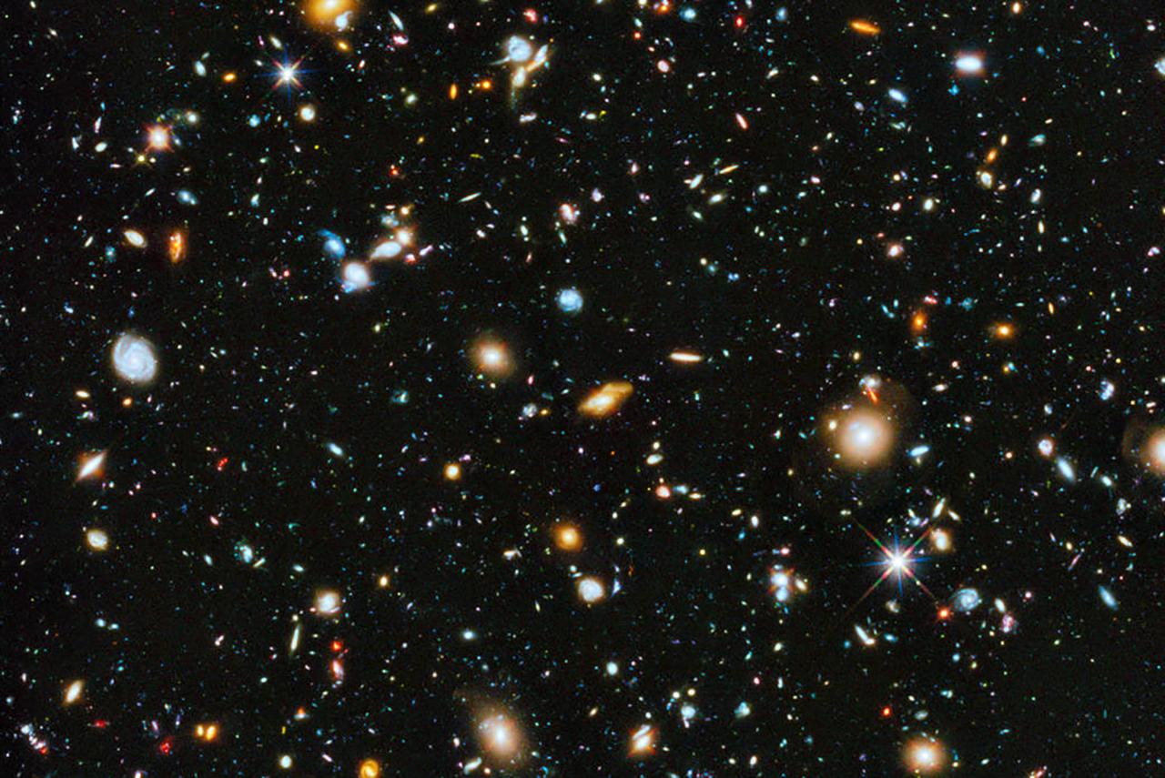photo of the universe NASA/ESA