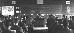 image of a classroom in Auburn Prison