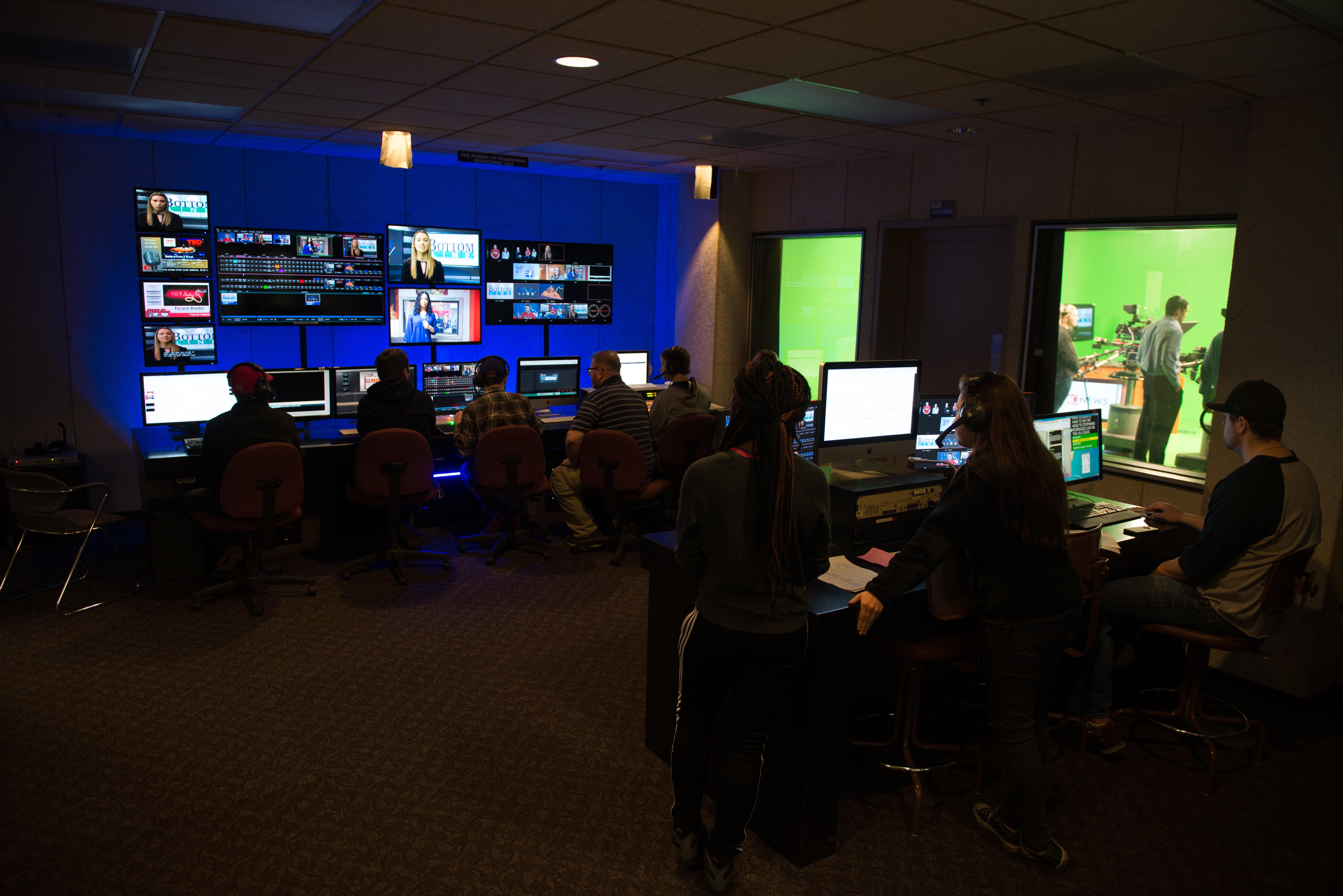 TV-10 Control room