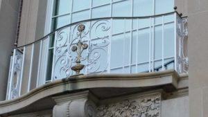 image of a railing