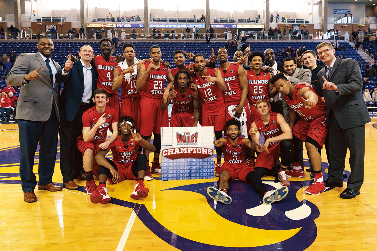 Photo of men's basketball team