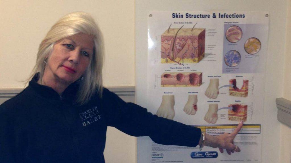 Headshot of Cathi Kaesberg in Classroom