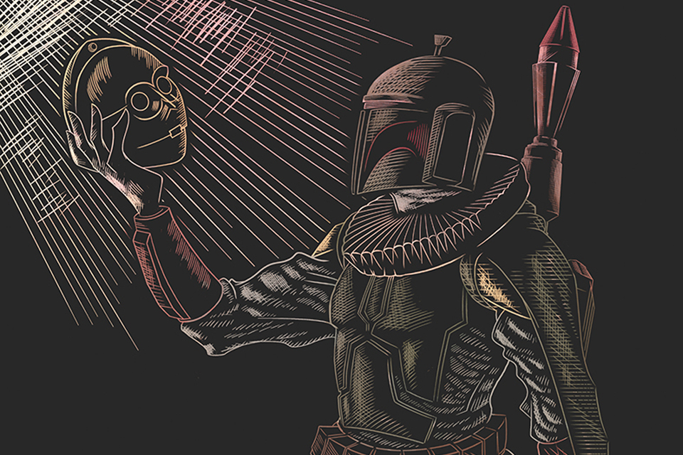 Boba Fett and C-3PO