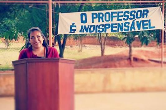Alejandra Villalobos, '14, English teacher trainer in Mozambique through the Peace Corps