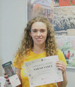 SEVEN winner Sarah Vance