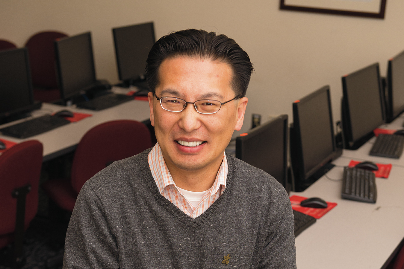 Ronnie Jia, associate professor in the School of Information Technology