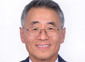 T.Y. Wang smiling