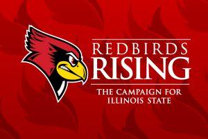Reggie Redbird and Redbirds Rising logo
