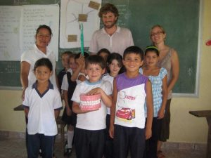 Classroom in Paraguay