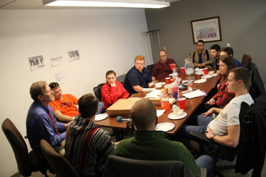 Group of participants at meeting
