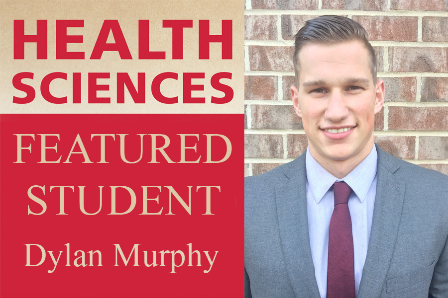 Dylan Murphy Health Sciences featured student