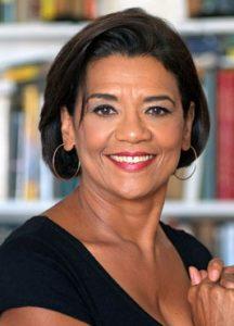Sonia Manzano of Sesame Street fame smiling