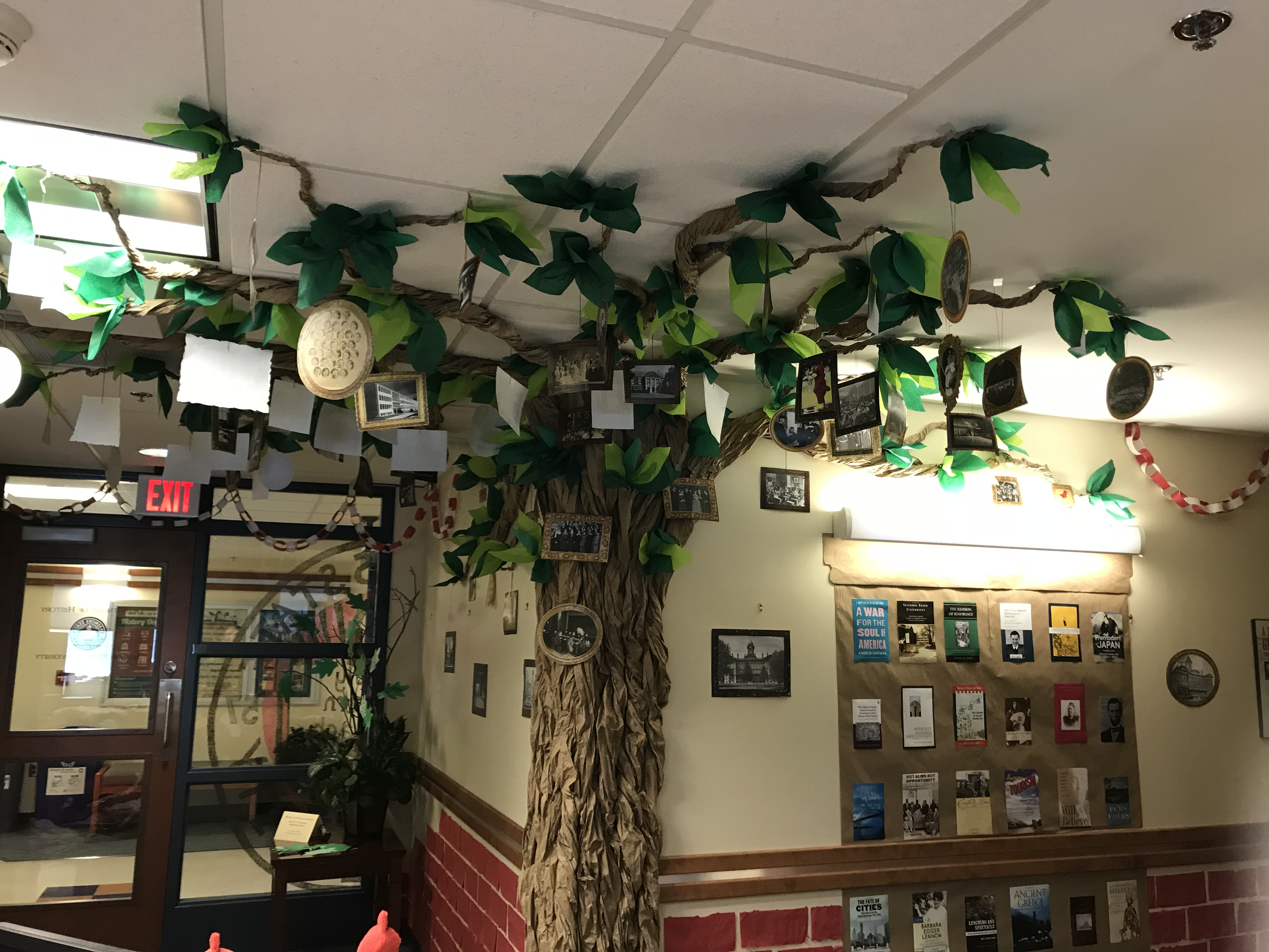 """""""Legacy"""" tree in the dept"""