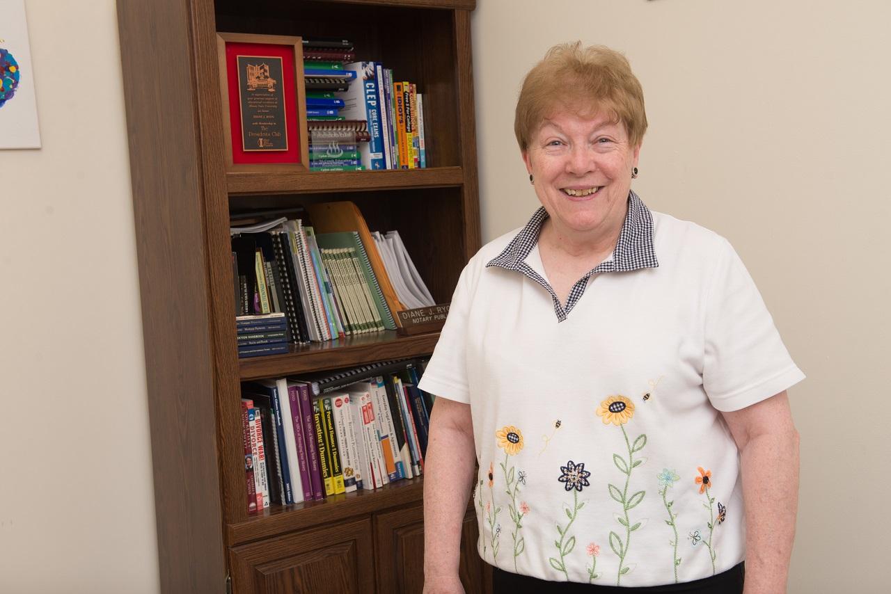 ISU alum Diane Ryon '69, M.S. '70