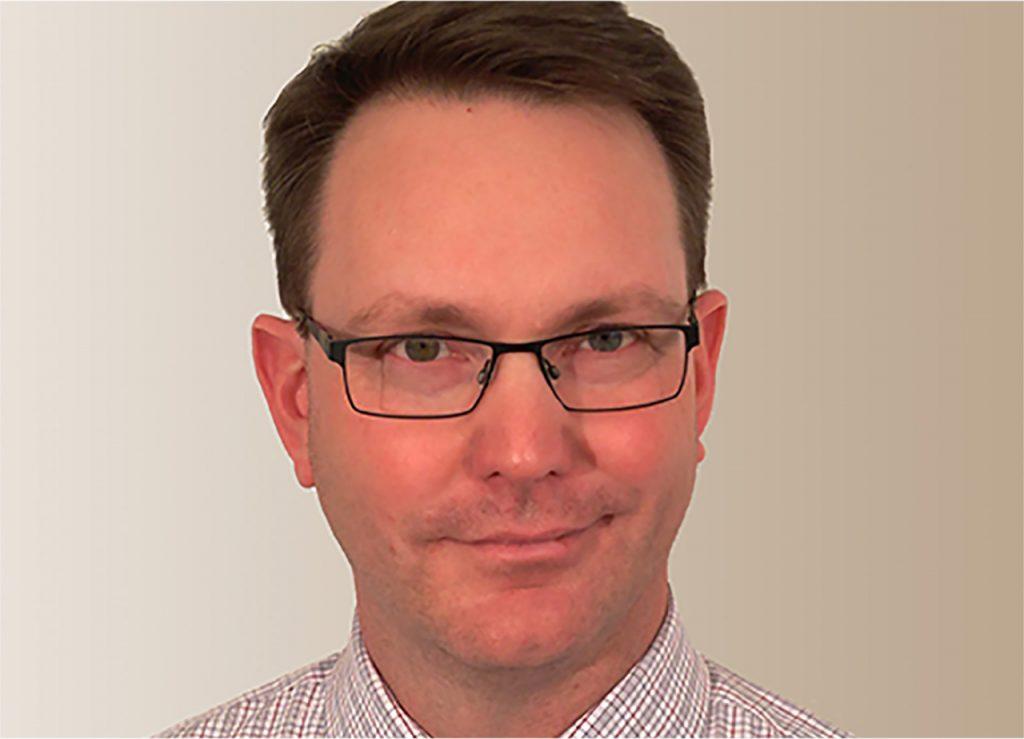 Stephen Hunt smiling