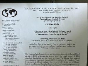 photo of the program