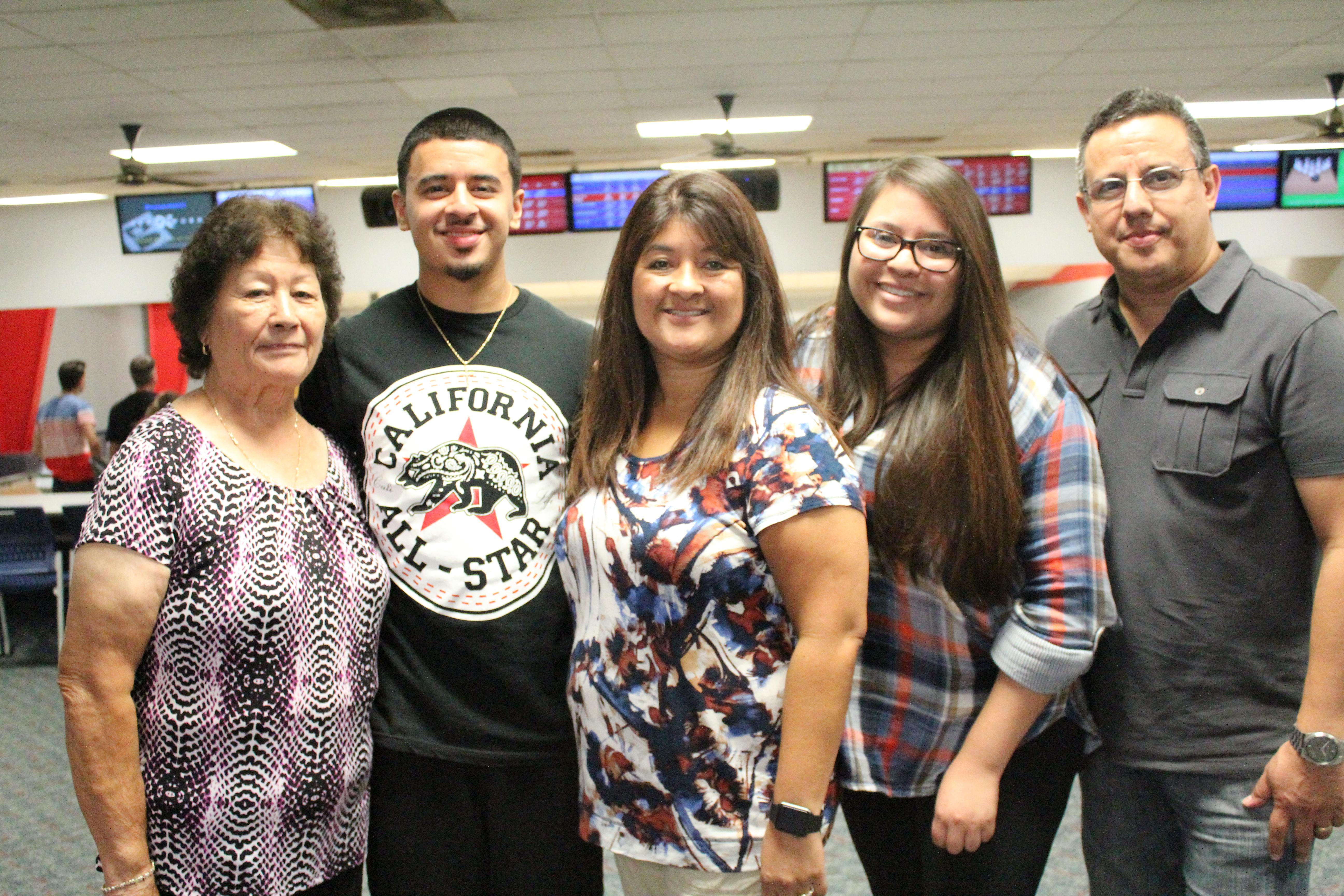 Family at Sunday Funday