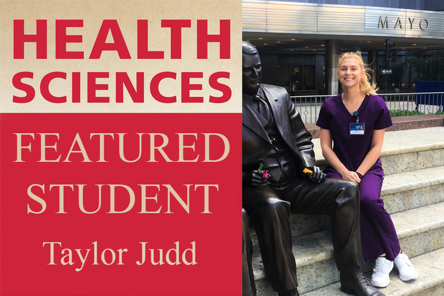 Health Sciences featured student: Taylor Judd