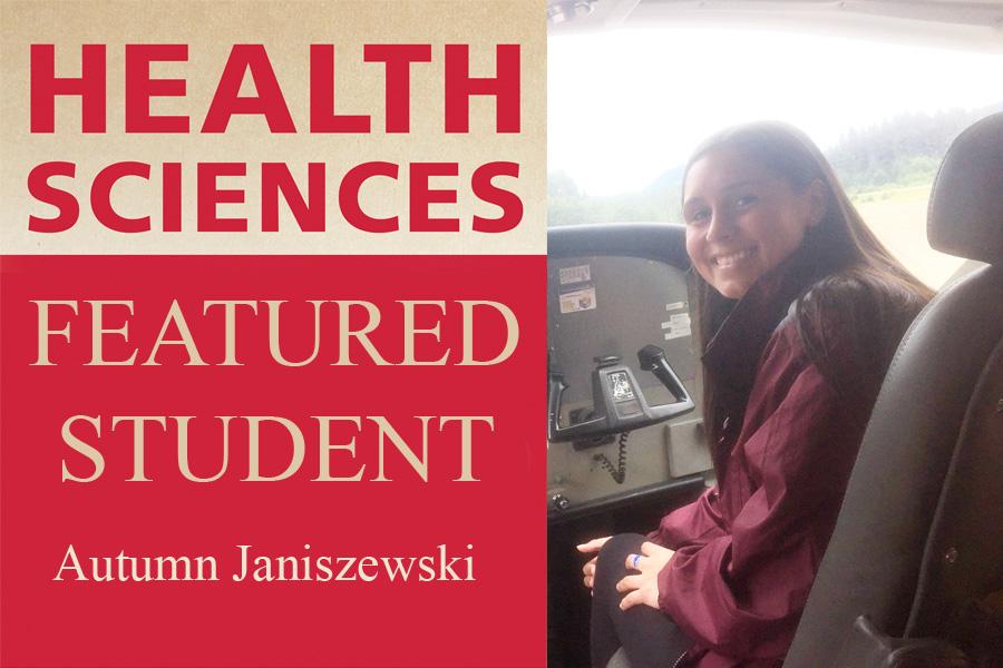 Health Sciences featured student Autumn Janiszewski