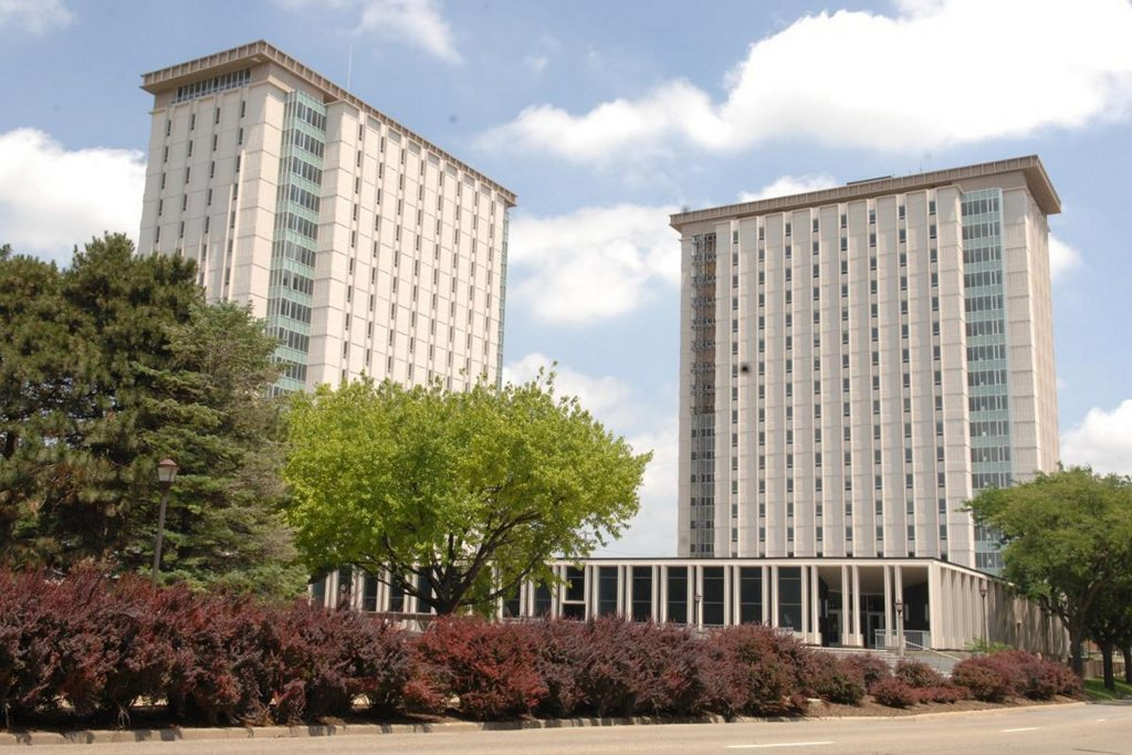Hewett and Manchester residence halls
