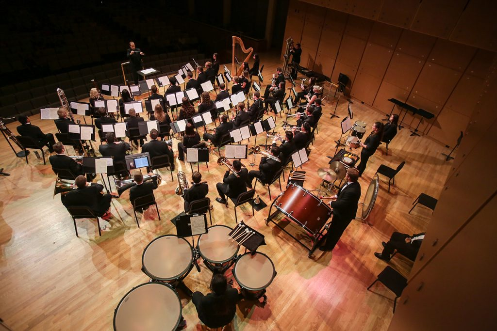 Illinois State University Wind Symphony, conducted by Anthony C. Marinello, III