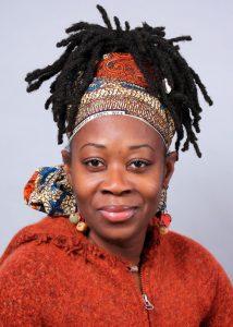 Ama Oforiwaa Aduonum smiling