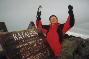 Jean Deeds on Appalachian Trail
