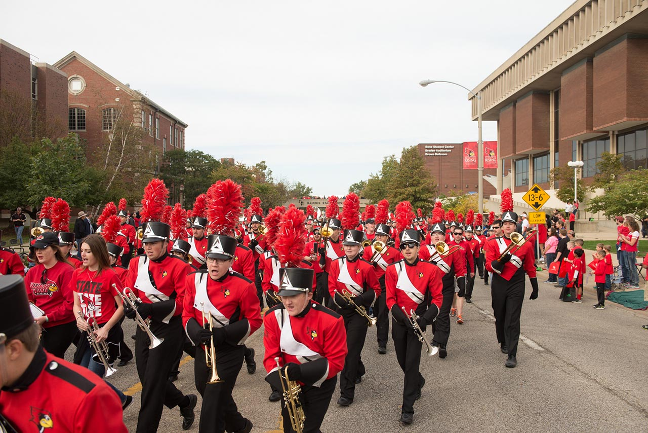 Big Red Marching Machine