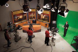 TV-10 studio