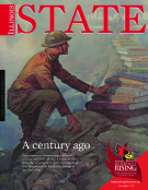Illinois State Magazine, November 2017.