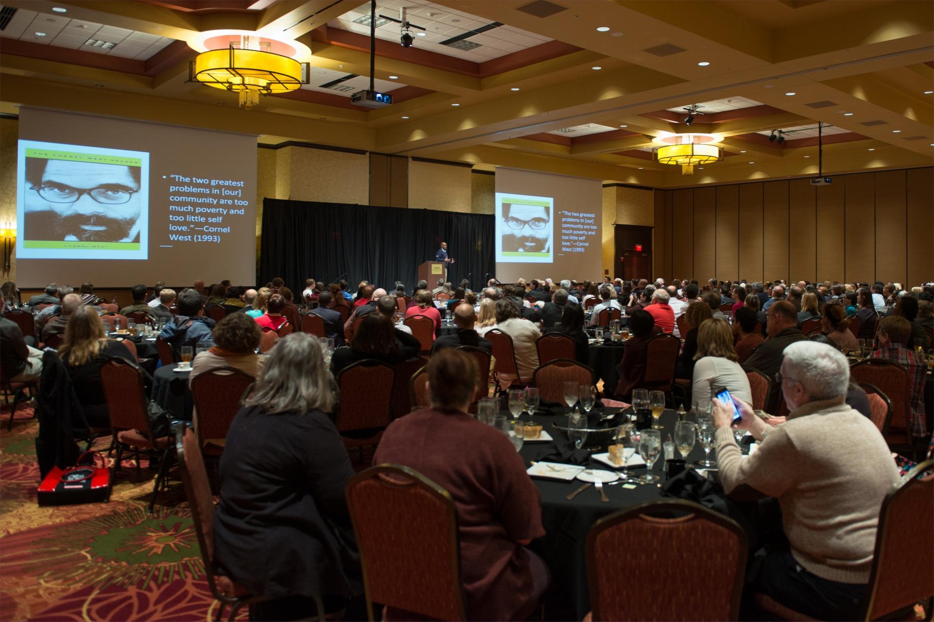 Crowd at 2018 Symposium
