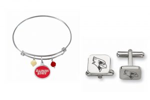 braclet and cuff links with Redbirds