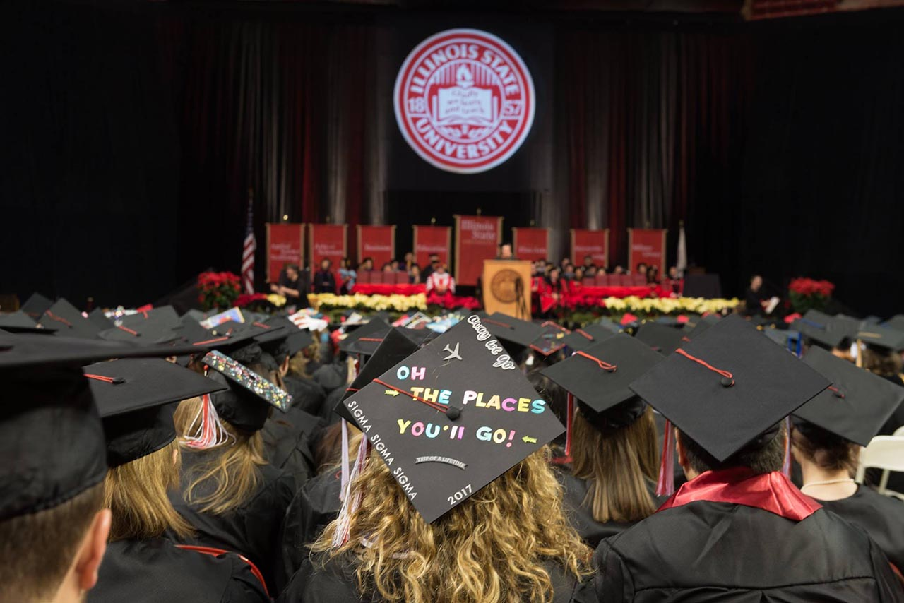 Winter commencement was December 16, 2017.