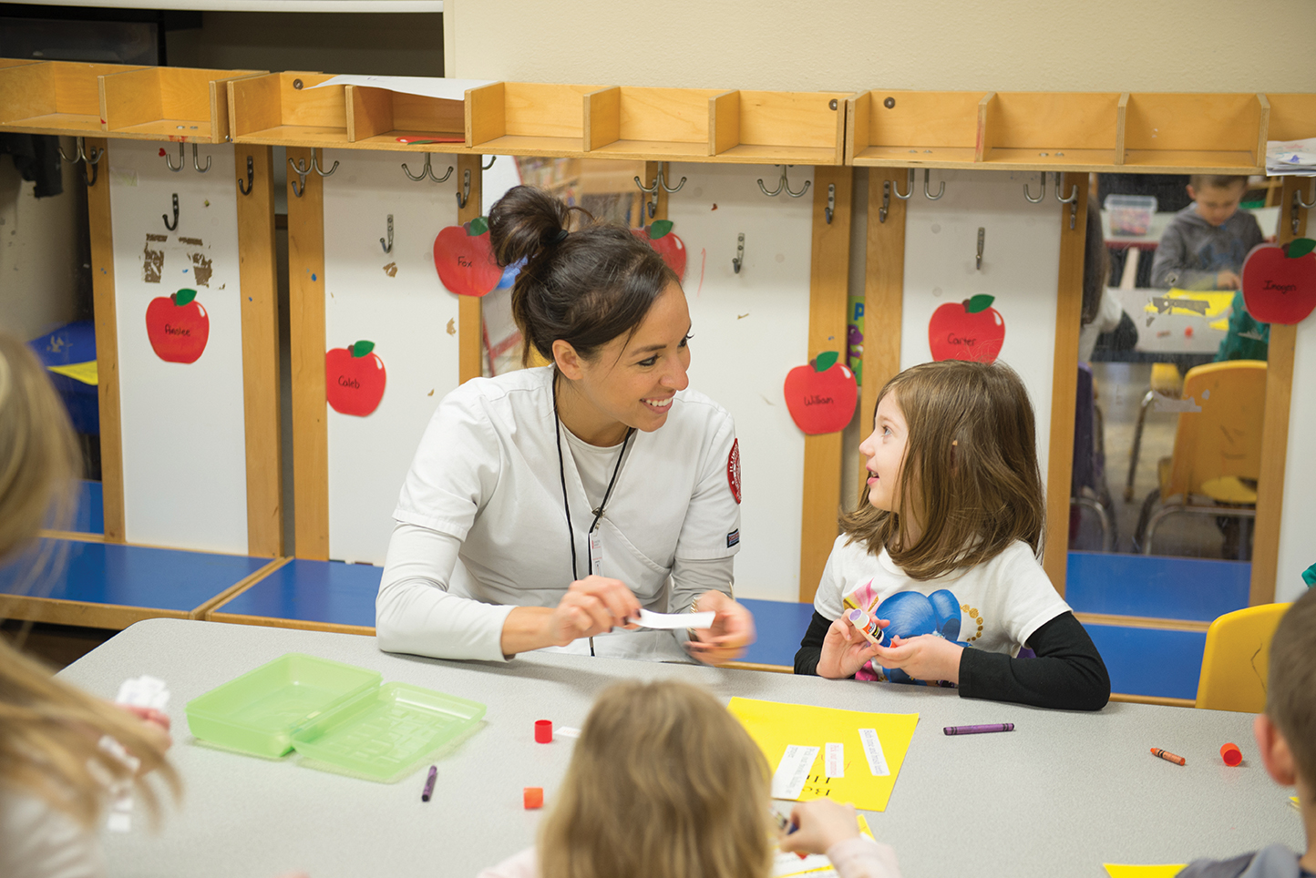 Illinois State nursing students like Miranda Rangel, B.S.N. '17, have been helping to improve the health of area students as part of America's Promise.