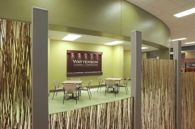 Watterson Dining Center sign