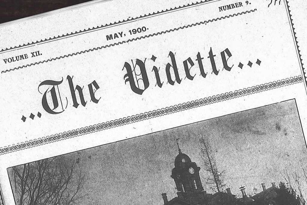 Volume XII May, 1900 Number 9 The Vidette