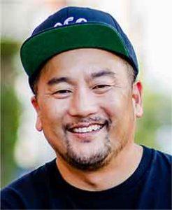 headshot of Roy Choi