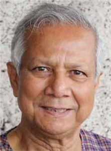 headshot of Muhammad Yunus
