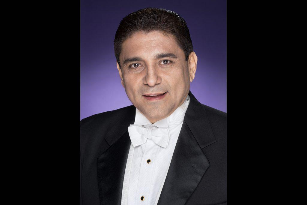 School of Music alumnus Germán Gutiérrez