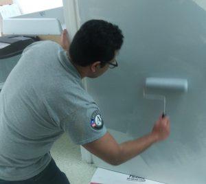 Juan painting