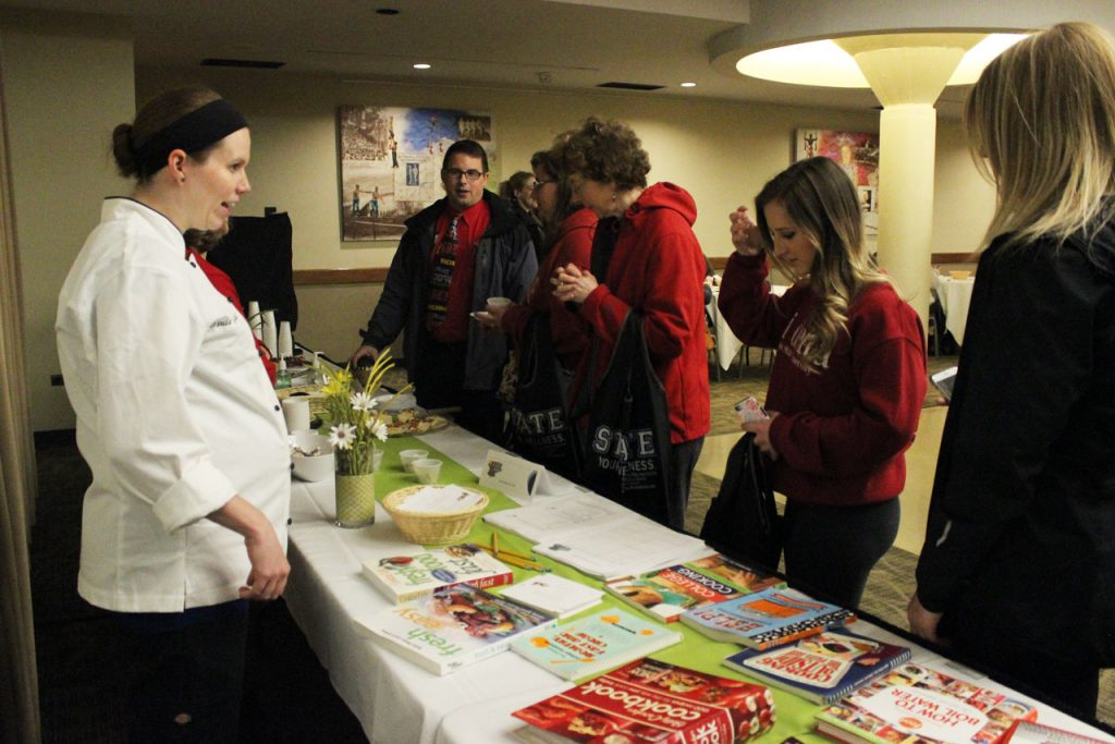 Campus Dining table at Nutrifest 2017