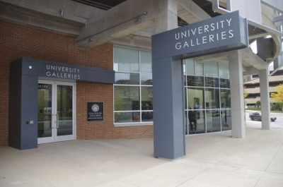 Exterior view of University Galleries, Uptown Normal