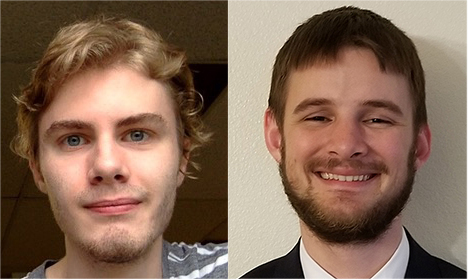 headshots of Jonathan Unger and Torrey Saxton, smiling