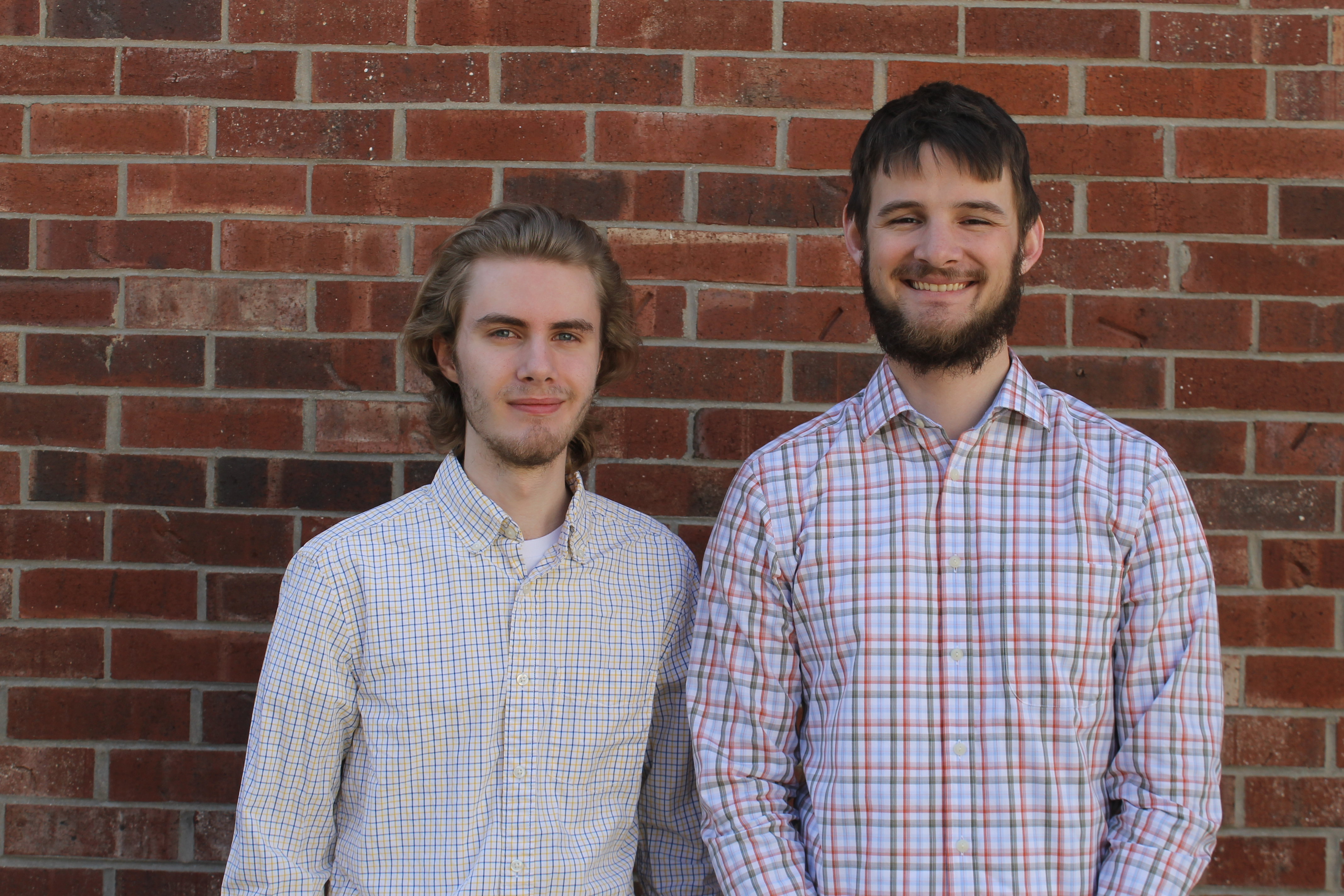 Torrey Saxton and Jonathan Unger were awarded the Goldwater Scholarship.