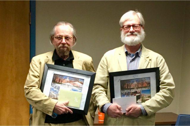 German faculty members Weeks and van der Laan to retire article thumbnail