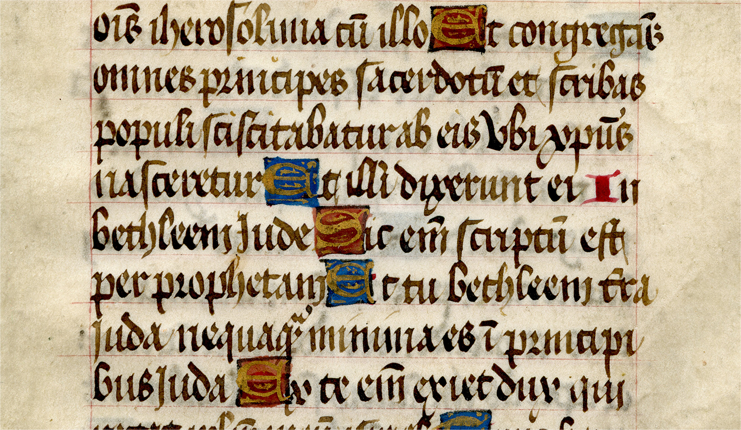 section of an illustrated manuscript