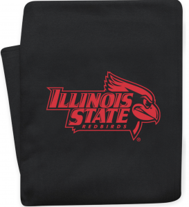 Illinois State Redbirds blanket