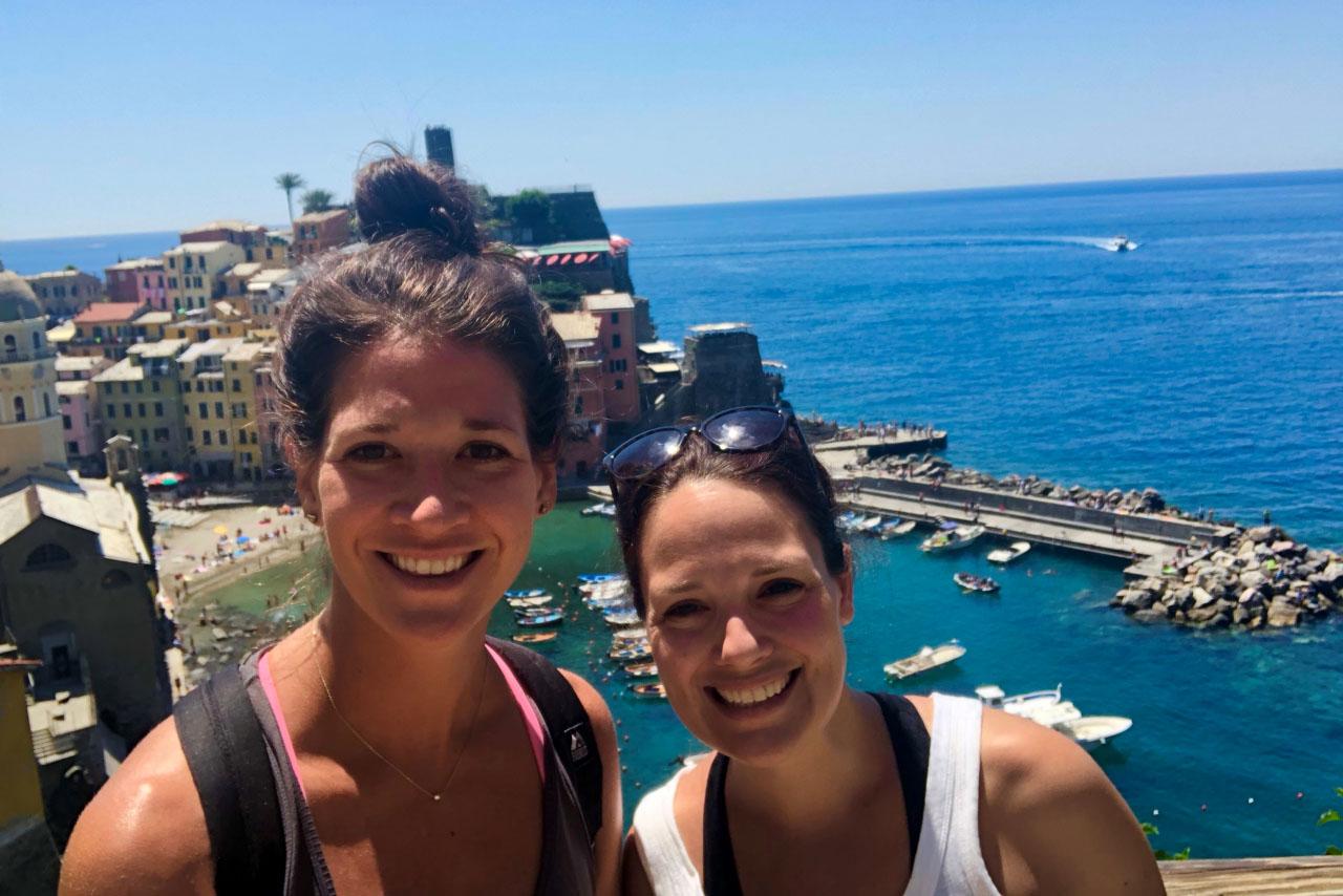 Hiking in Cinque Terre Italy